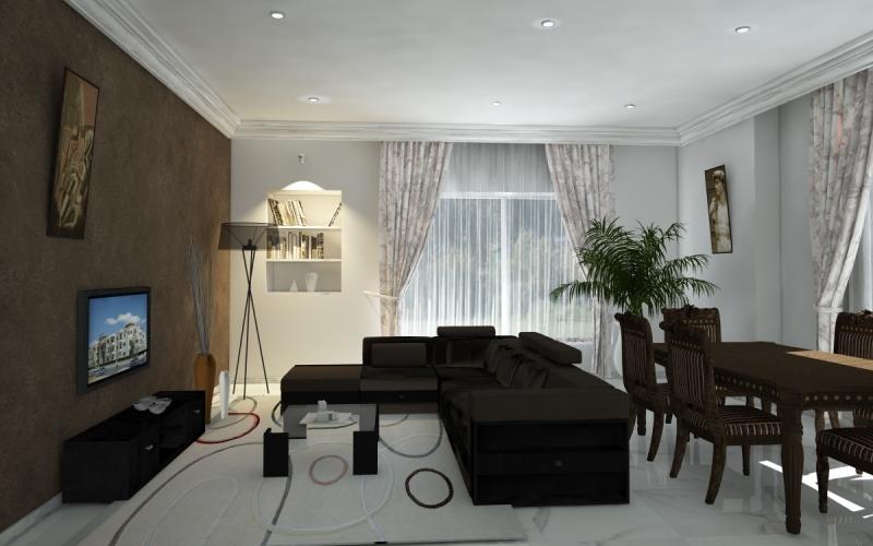 Moderne D Cor De Chambre A Coucher Ms Timicha - Maison Villa Plafond ...