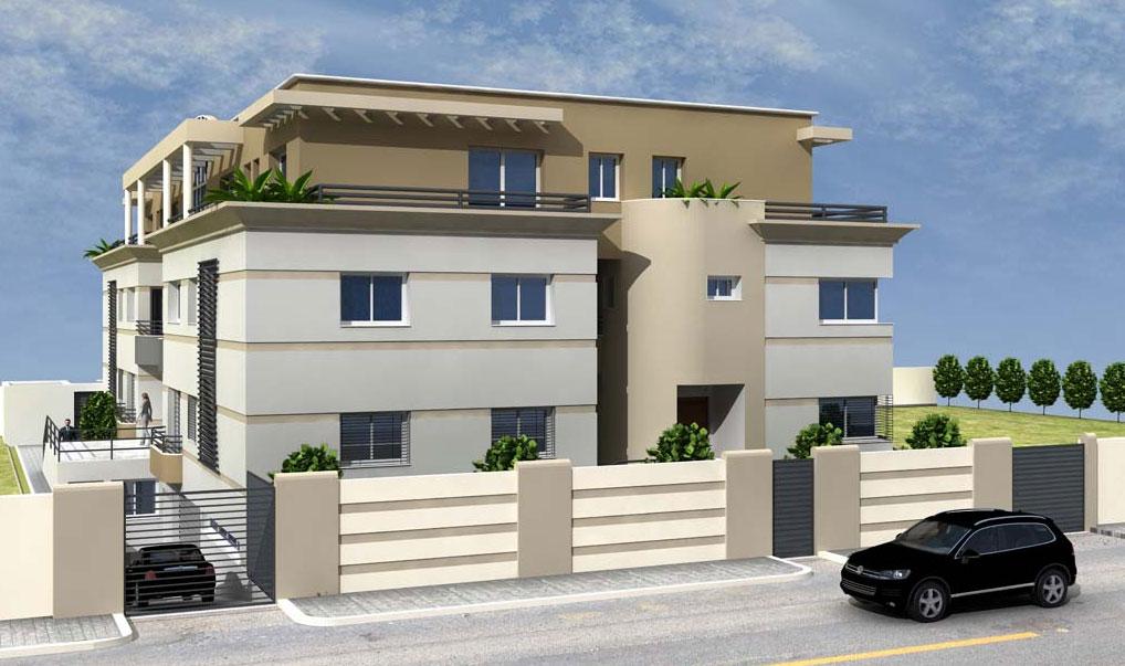 R sidence de haut standing la soukra r sidence amira immobilier neuf tunisie - Residence de haut standing ...