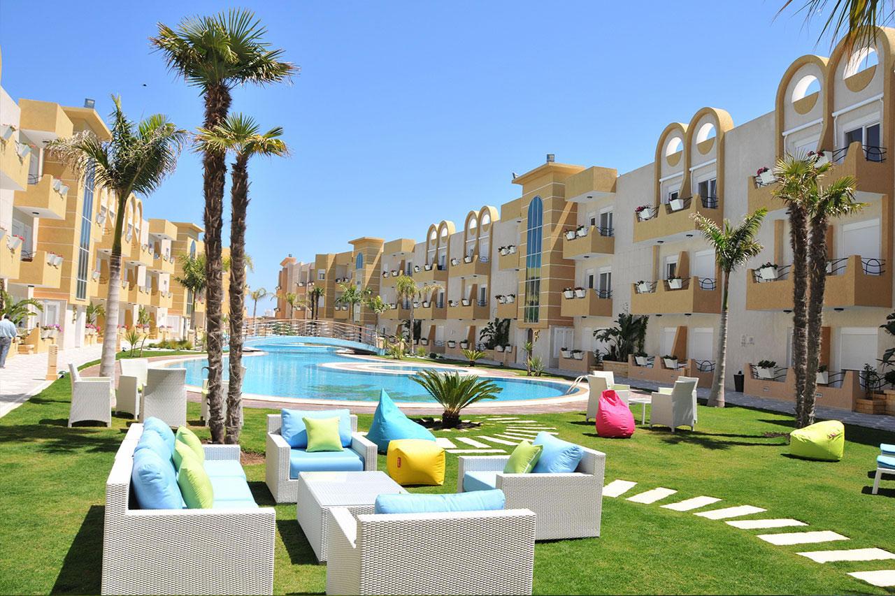 R sidence de haut standing hergla les dunes golf spa - Location appartement port el kantaoui sousse ...