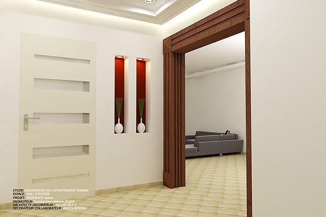 Salon Moderne Sfax : Résidence moderne au jardins d el menzah salma