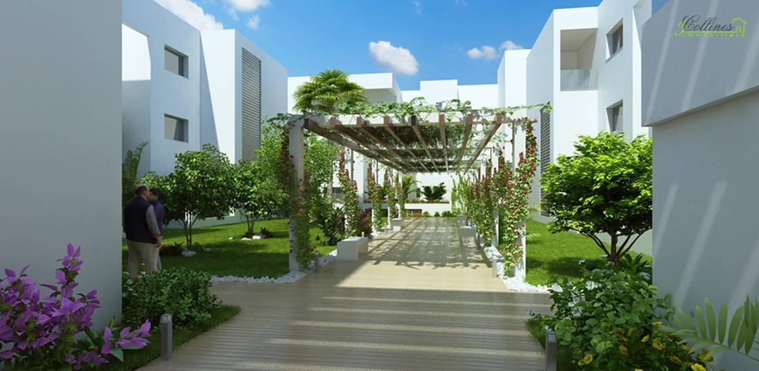 R sidence de haut standing la soukra la reine blanche immobilier neuf tunisie - Residence de haut standing ...
