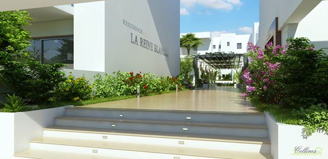 R sidence de haut standing la soukra la reine blanche immobilier neuf tunisie - Residence de haut standing rubio ...