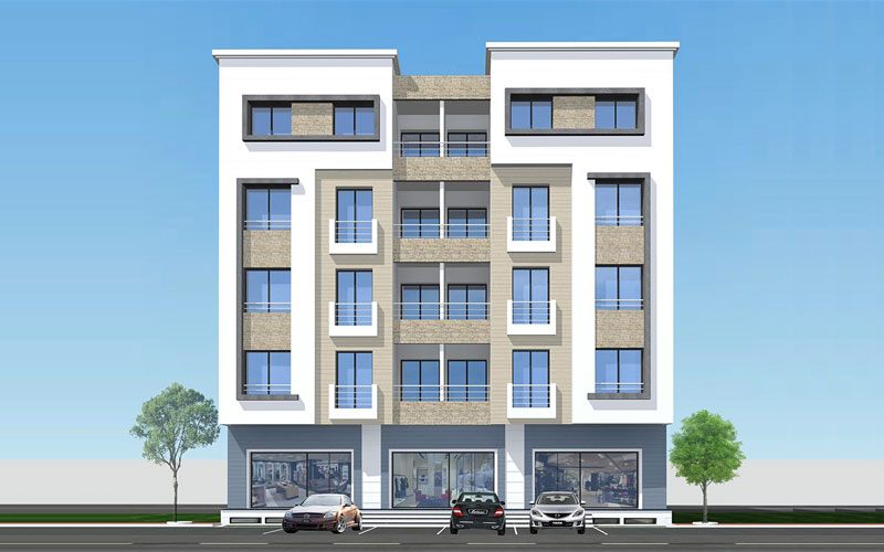 R sidence ines el kantaoui immobilier neuf tunisie - Maison design moderne capital building ...