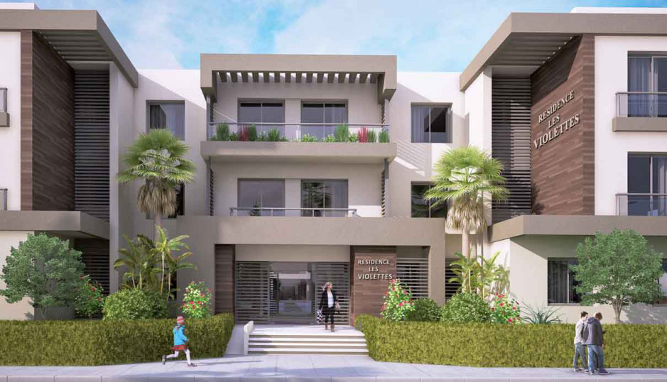 R sidence de haut standing la soukra r sidence les violettes immobilier neuf tunisie - Residence de haut standing rubio ...