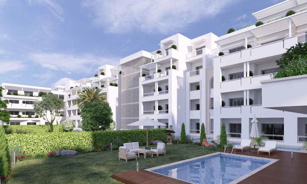 R sidence h teli re de tr s haut standing hammamet immobilier neuf tunisie - Residence de haut standing ...